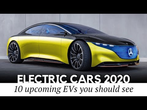 Top 10 Electric Cars Previewing The Upcoming EV Model Lineup For 2020