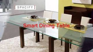 Italian Dining Tables - Extendable dining table, Modern extendable dining table at Spacify.com