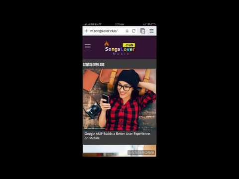 How to Search on SongsLover Mobile Version