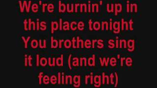 Burnin' Up Jonas Brothers Lyrics Video