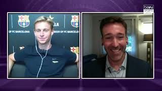 "De Jong: ""Barca Are Always One of The Favorites in The UCL"""