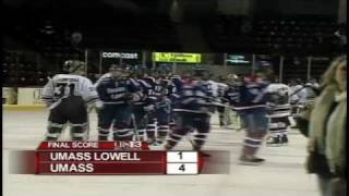 UMass Hockey Highlights From 4-1 Win Over Lowell