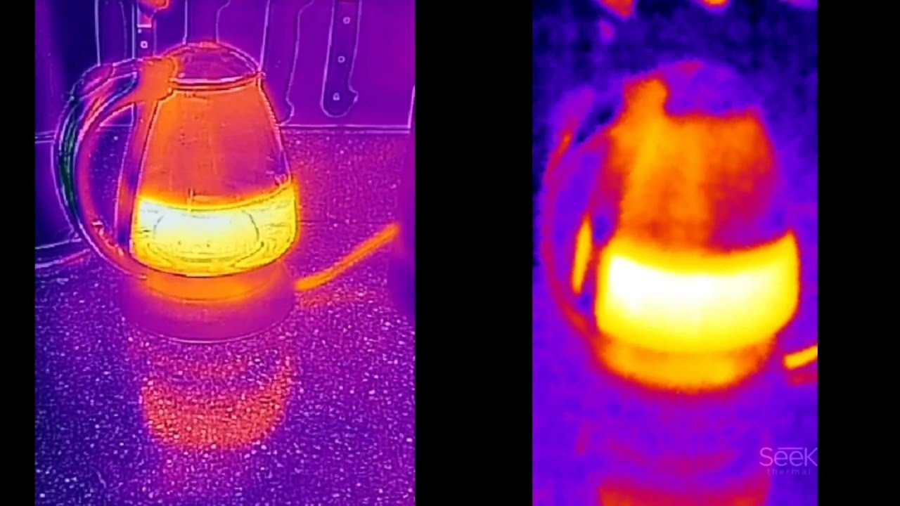 Flir one vs seek compact thermal cams for android youtube for Thermal watches