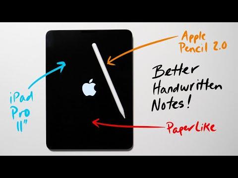 Take Better Handwritten Apple Notes (iPadOS)