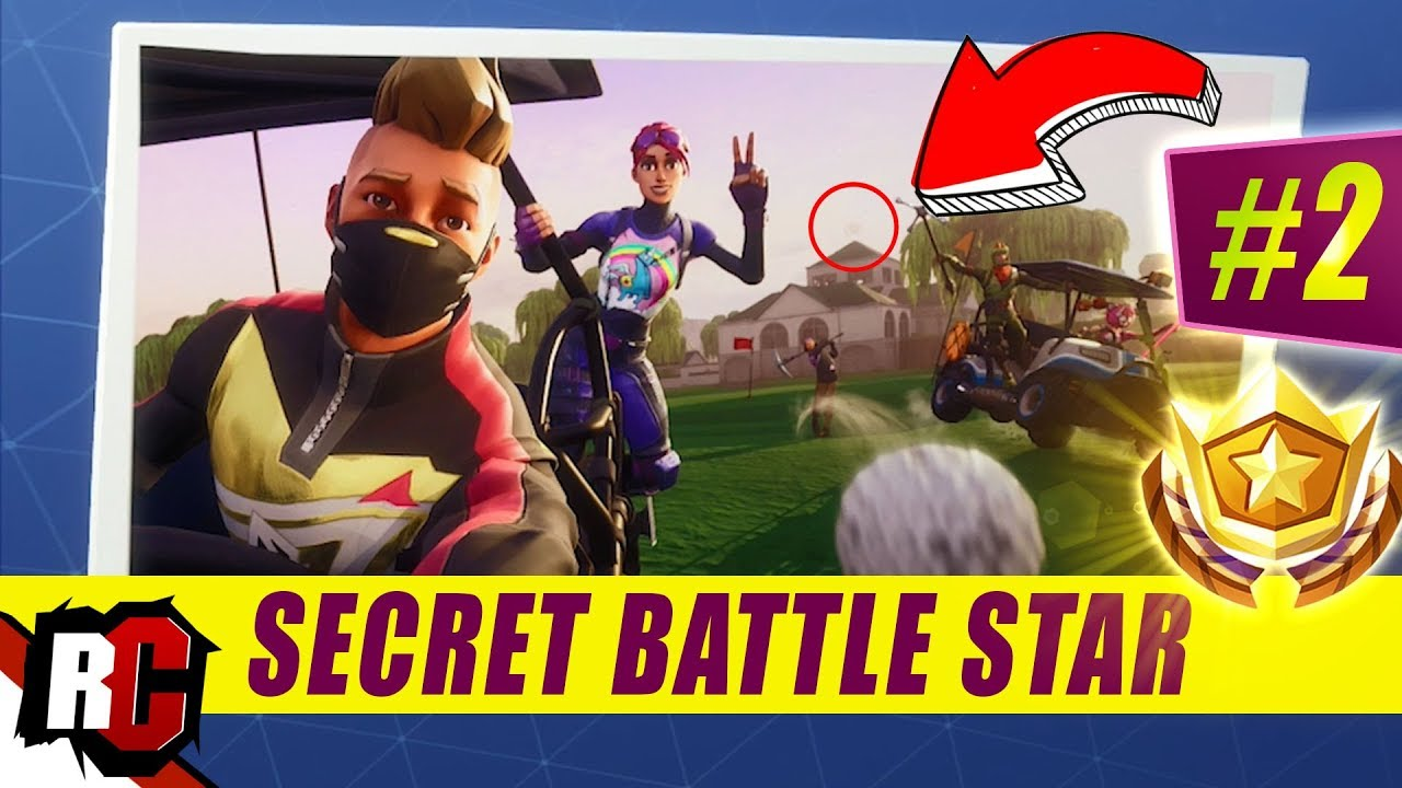 Secret Battle Star Location Week 2 Season 5 Fortnite Road Trip