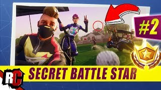 Secret Battle Star Emplacement WEEK 2 SEASON 5 Fortnite (Road Trip Challenge / Loading Screen Week 2)