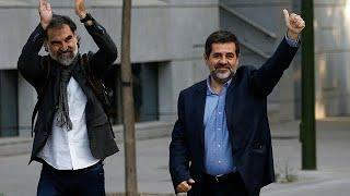 В Каталонии начались аресты