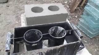 Форма для строительных блоков своими руками
