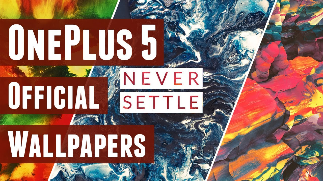 Get Official Oneplus 5 Wallpapers Here