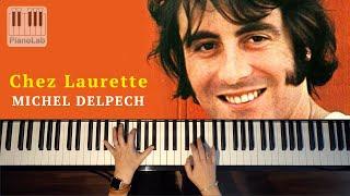 Chez Laurette - Michel Delpech - Piano cover