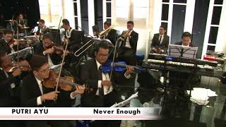 Putri Ayu Singing Never Enough by Loren Alred from The Greatest Sho...