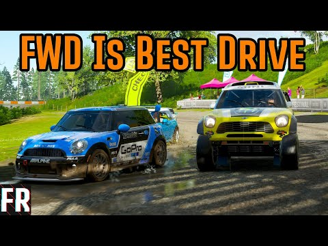 Front Wheel Drive Is Best Drive! - Forza Horizon 4