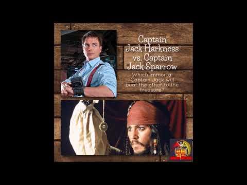 107 - Captain Jack Harkness vs. Captain Jack Sparrow