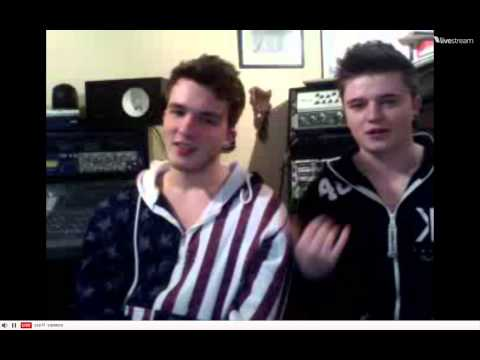 Josh Devine and Joey Cottle twitcam 1-8-13
