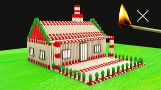 Match House Arts Amazing Matchsticks House Without Fire