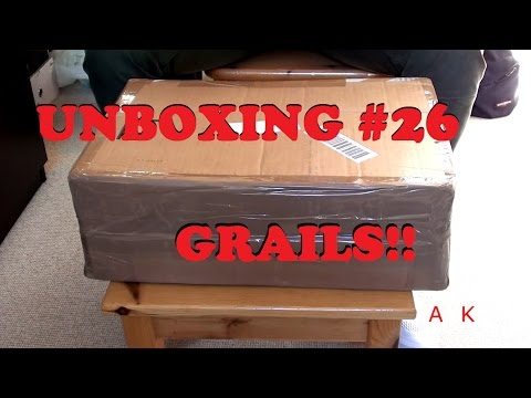 UNBOXING #26: ONE OF MY GRAILS FOR RETAIL PRICE! VNDS!