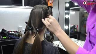 """Видеоурок  : """"Как легко завить волосы в волны"""""""