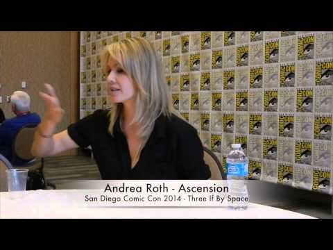 Comic Con 2014 Ascension  Andrea Roth