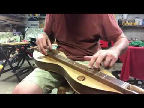 Down-time with a new dulcimer