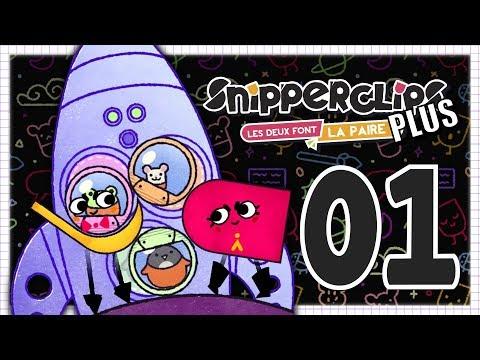 SNIPPERCLIPS PLUS EPISODE 1 NINTENDO SWITCH COOP FR | LE RETOUR !