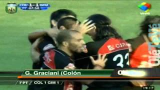 El pibe Graciani debutó como goleador y empató el partido