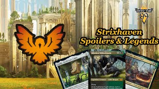 Into The 99 Podcast | Episode: 83 | Strixhaven Spoilers And Legends |