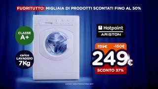 Spot Unieuro - FUORITUTTO! - Lavatrice Hotpoint Ariston