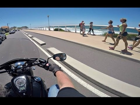 Australian Motorcycle Road Trip Brisbane Newcastle Sydney Wollongong Gosford Tamworth Tenterfield