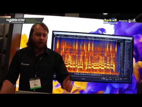 iZotope RX6 Advanced 新機能紹介 in NAB SHOW 2017 by Rock oN