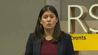 Lisa Nandy MP's addresses the Royal Society for the Arts, Manufactures and Commerce