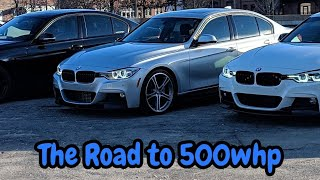 Bmw F30 335i N55 Performance Mod Overview 500whp On 93 Fuel Youtube