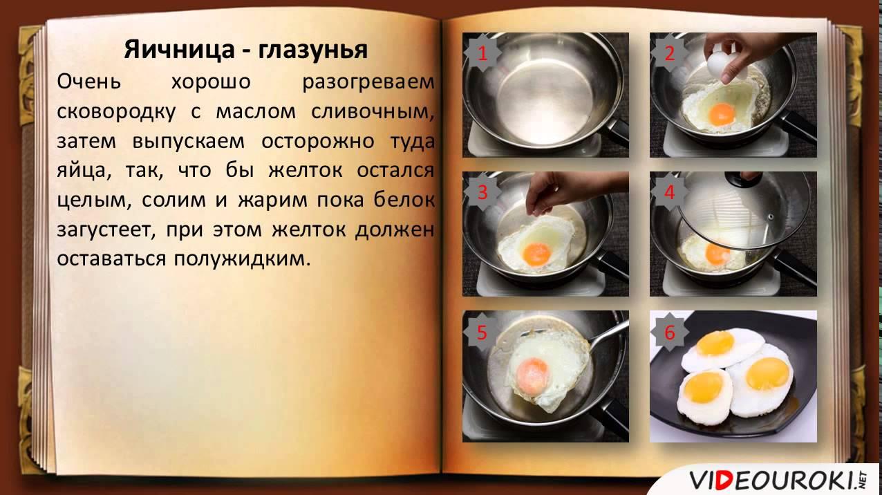 конспект урока блюда из яиц технология 5 класс