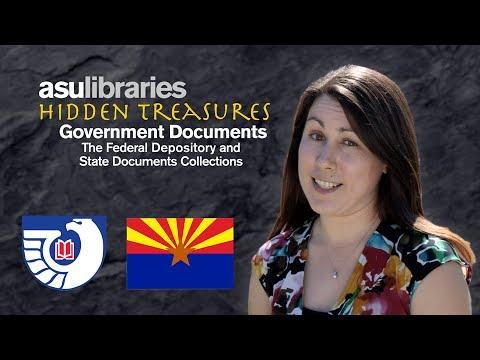 ASU Libraries Hidden Treasures: Government Documents