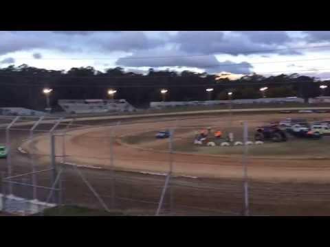 Street Stock Crash Latrobe Speedway 5/11/16