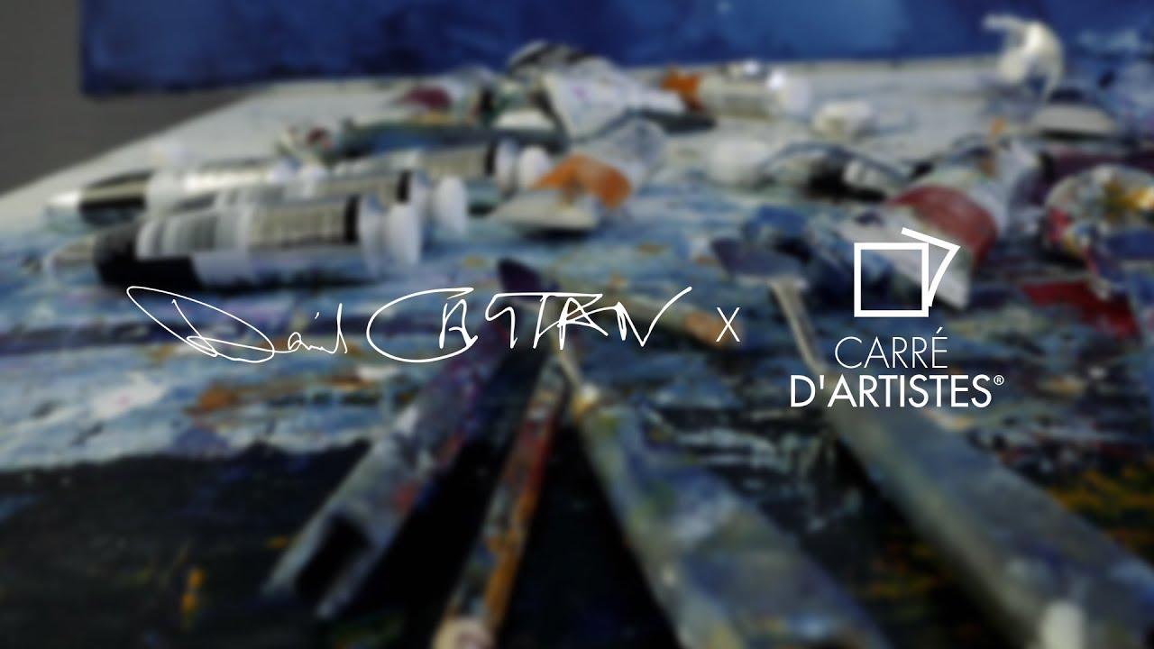 Daniel castan x carr d 39 artistes youtube for Castan peintre