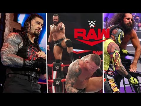 WWE Monday Night Raw 17th August 2020 Highlights Preview, Roman reigns Lose | Rey Mysterio Returns
