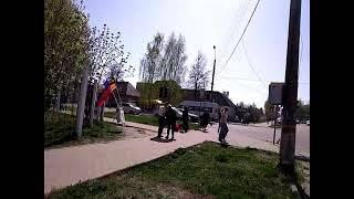 27.04.2019 НОД Людиново одиночный пикет За Суверенитет!