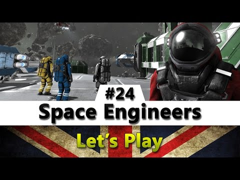 Space Engineers | Let's Play Episode 24 (Working On The Drill Ship)