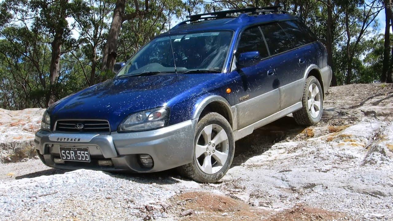 Subaru Outback Off Road (Australia)