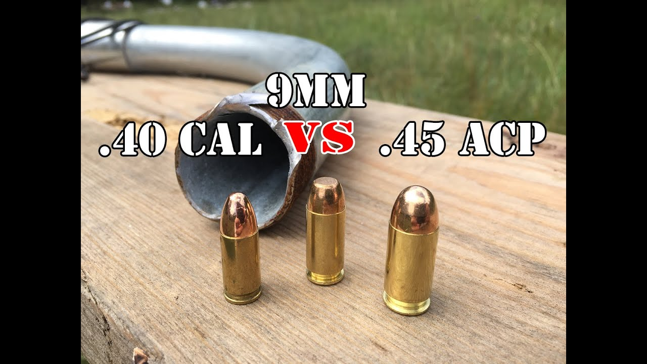 45 40 9mm Vs 40 Cal Vs 45 Acp Can They Turn In Flight