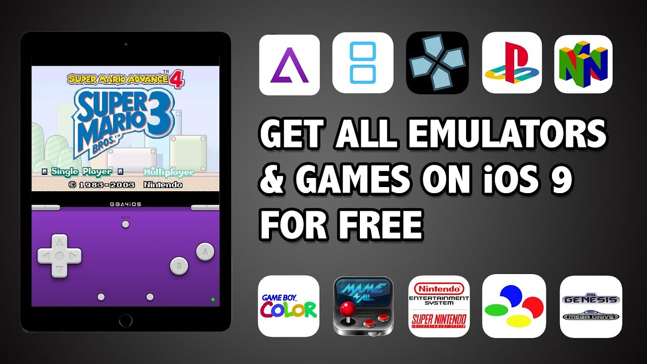 nes emulator iphone how to emulators for iphone ios 9 no jailbreak 9878