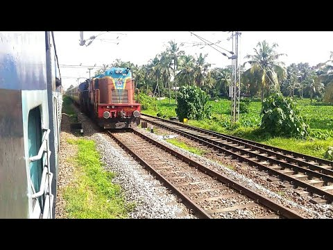 Venad meets offlink 22654 NZM TVC Super Fast @ Thripunithura