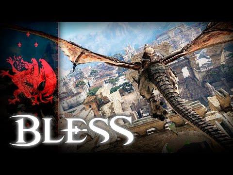 Bless (블레스) - Union Territory - lvl 5~20 Seamless World Exploration - CBT2 - KR