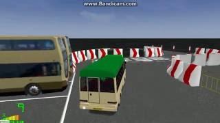 mm2 tour 1035 香港小巴 mitsubishi rosa public light bus driver test city