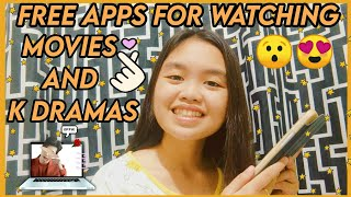 BEST FREE APPS FOR WATCHING MOVIES AND K DRAMAS | Ateng Kimchee