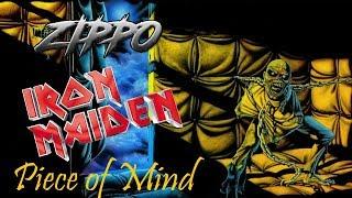 Зажигалка Zippo  Iron Maiden 29876. Видео обзор.