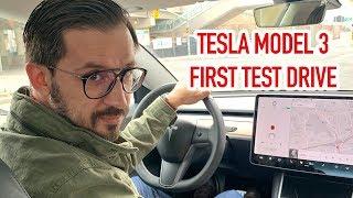 Tesla Model 3 First Test Drive | Toronto