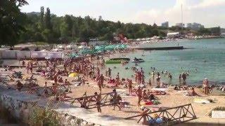 ODESSA BEACHES IN FRENCH BOULEVARD  ОДЕССА ПЛЯЖИ НА ФРАНЦУЗКОМ БУЛЬВАРЕ
