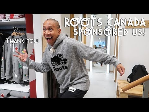 OMG! ROOTS CANADA SPONSORED US! | Vlog #201