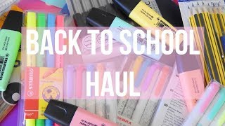 BACK TO SCHOOL STATIONERY & SUPPLIES HAUL 2017| Floral Sophia